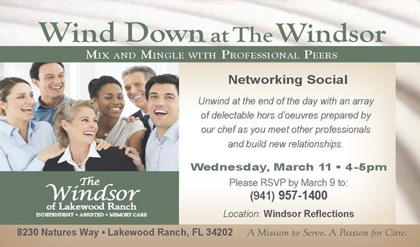 Wind Down at The Windsor 3-11-15